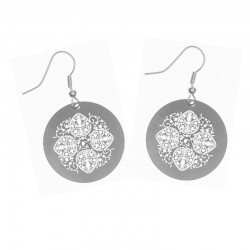 Apollo Gobo Earrings - Persian Lace
