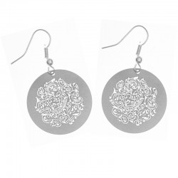 Apollo Gobo Earrings - Almost Paisley