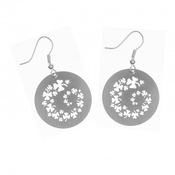 Apollo Gobo Earrings - Shamrock Spiral