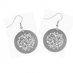 Apollo Gobo Earrings - Frilly Hearts