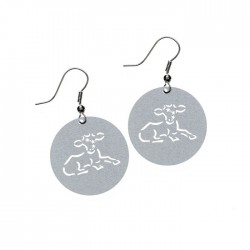 Apollo Gobo Earrings - Aries the Ram