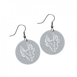 Apollo Gobo Earrings - Taurus The Bull