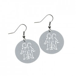 Apollo Gobo Earrings - Gemini The Twins