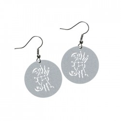 Apollo Gobo Earrings - Cancer The Crab