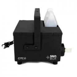 CITC SnoBox Snow Machine - Water Resistant and Low Power Consumption