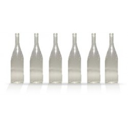 City Theatrical White Wine Bottle 11 1/2-inches (Clear)