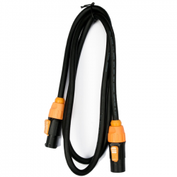 Accu-Cable 5' IP65 Power Link Cable - Male to Female