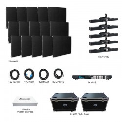 ADJ AV6X LED Video Panel - 5x3 VXR System