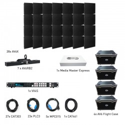 ADJ AV6X LED Video Panel - 7x4 VXR System
