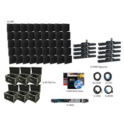 ADJ AV6X LED Video Panel - 9x5 VXR System