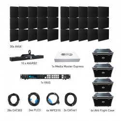 ADJ AV6X LED Video Panel - 5x3 Dual VXR System