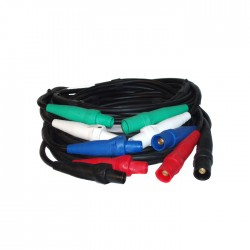Lex 100 Amp Cam-type 5-Wire Banded Cable Extensions- 50ft