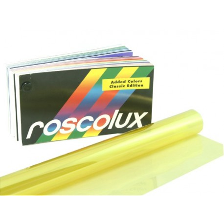 Rosco Roscolux 06 No Color Straw - T12 24in. Gel Sleeve