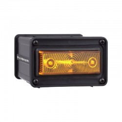 Pro Intercom Front-mounted rectangular strobe with 180° visibility