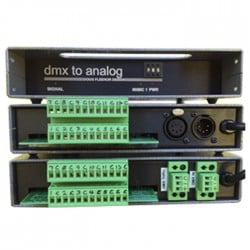 Doug Fleenor DMX512 to 0-10 Volt Analog Converter - 12 Channels