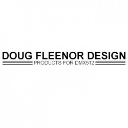 Doug Fleenor Rack Mount Kit for 125 and 125EE with 5 Pin XLR Front Mount Connectors & Feed-Thru