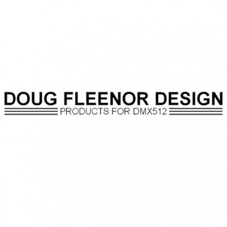 Doug Fleenor Rack Kit - 16in. Wide Silver Chassis (RKB1-1)