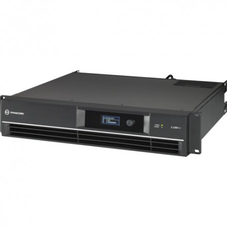 Dynacord DSP Power Amplifier 2x650W - Install. with FIR drive and Phoenix connectors