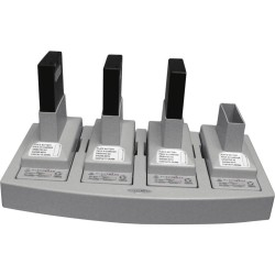 Telex RTS CB800NM4 - 4 bay NMH Charger (without power supply, battery packs, or cradles)