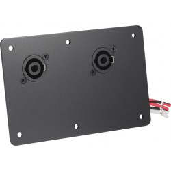 Electro-Voice Dual NL4 cover plate