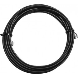 Electro-Voice 50' 50 Ohm Low Loss Semi-Flexible Coaxial Cable - TNC M connector.