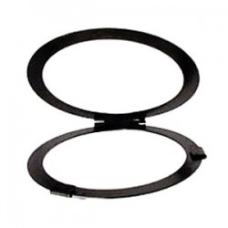 Altman Black Hinged Filter Frame 5in. Diameter