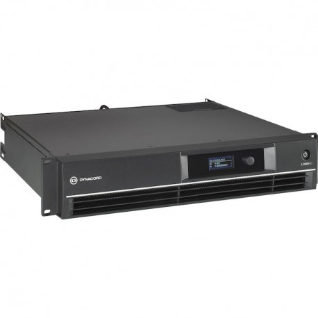 Dynacord L2800FD DSP 2x1400W Power Amplifier for Live Performance Applications