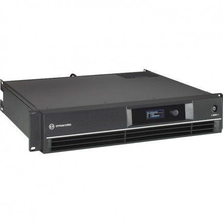 Dynacord L3600FD DSP 2x1800W Power Amplifier for Live Performance Applications