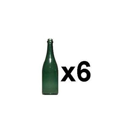 City Theatrical Champagne Bottles Green 11 7/8-inches
