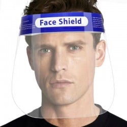Protective Face Shield - 2 Pack