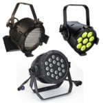 LED Par Units - 30' to 50' Throw Distance