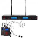 Nady Headset Mic Dual Transmitter Systems