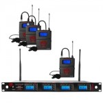 Nady Lapel Quad Transmitter Systems