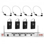 Nady Headset Mic Quad Transmitter Systems