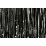 Mylar Rain Curtain - Black/Gold
