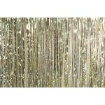 Mylar Rain Curtain - Silver/Gold/Diffraction