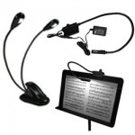 Music Stand Gooseneck Lights