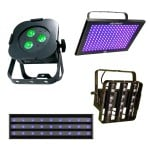 LED UV Wash Units