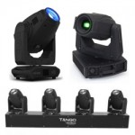 LED Moving Head Spot Fixtures