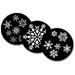 Snow & Snow Flake Steel Gobos