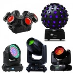 LED Moving Head Beam Fixtures